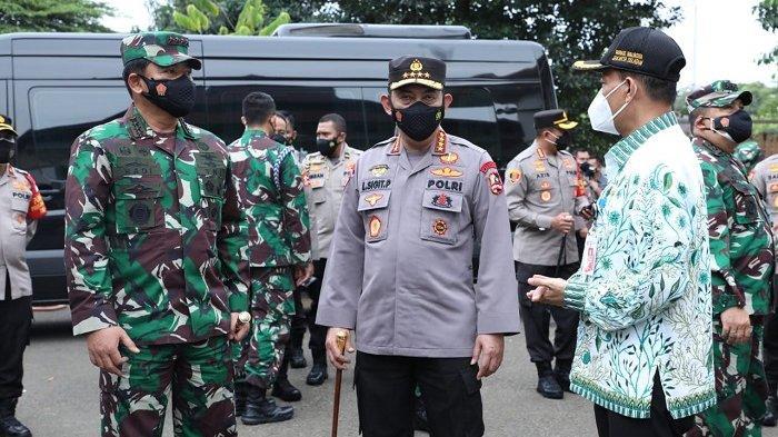 Panglima TNI Siap Bantu Rencana Plt Wali Kota Jakarta Selatan Vaksinasi 21 Ribu Orang Per Hari