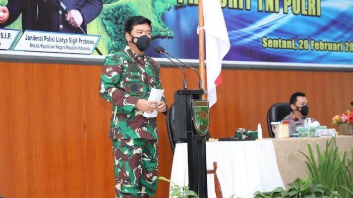 Panglima TNI dan Kapolri di Jayapura Tekankan Disiplin Protokol Kesehatan dan Pemantapan Sinergitas