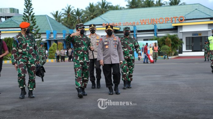 Panglima TNI Bersama Kapolri Bakal ke Papua Sore Ini