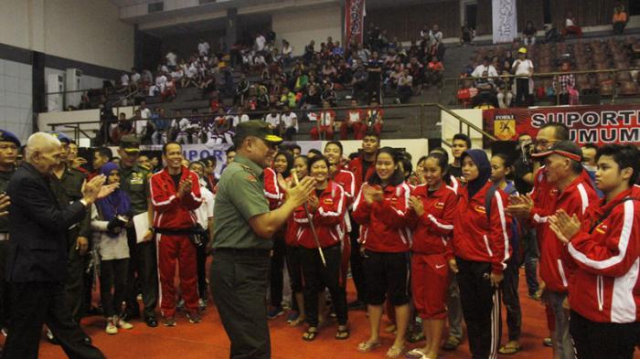 Panglima TNI Berharap Atlet Karate Bisa Rebut Emas di Olimpiade 2020 Jepang