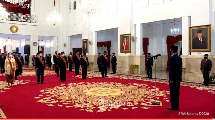 Istana Yakin Pemberian Tanda Kehormatan pada Hakim MK Tidak Ganggu Independensi