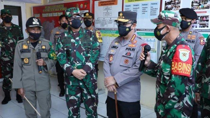 Panglima TNI Sidak Gudang Paket Obat Gratis dan Pelaksaaan PPKM Darurat di Banten