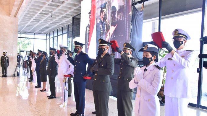 Panglima TNI Lantik 164 Perwira Tenaga Kesehatan TNI untuk Tambah Kekuatan Hadapi Pandemi Covid-19