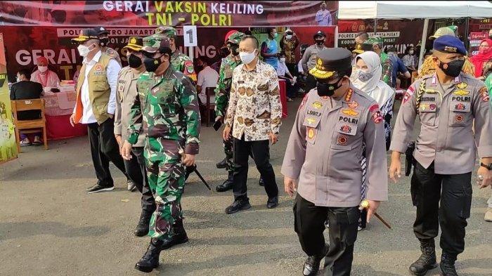 Panglima TNI Targetkan 70 Persen Warga Jakarta Sudah Divaksin Sebelum HUT RI