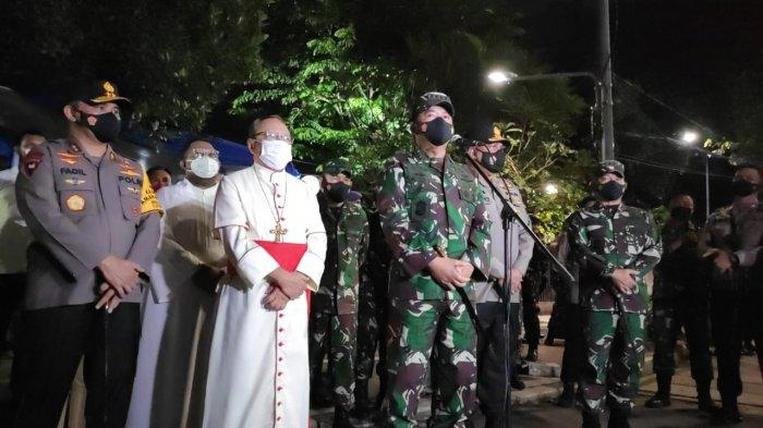 Panglima TNI: Mulai Malam Ini Gereja Hingga Objek Vital Nasional Diberi Penjagaan