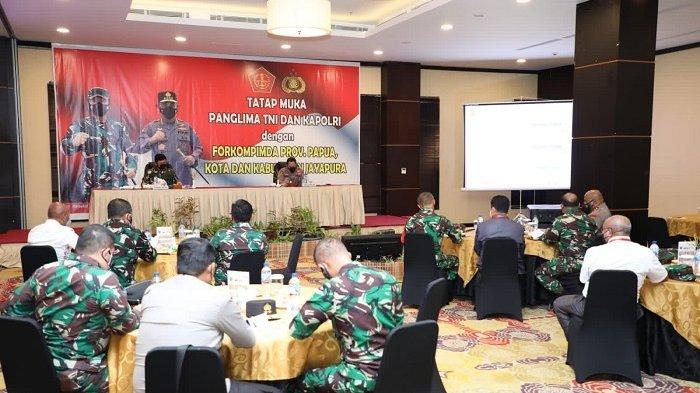 Kapolri Dorong Forkopimda Berperan Aktif Selesaikan Persoalan Venue PON XX Papua