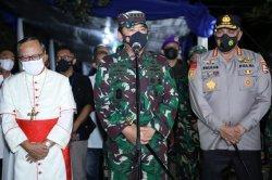 Cek Keamanan Tempat Ibadat, Panglima TNI Bertolak ke Makassar dan Manokwari