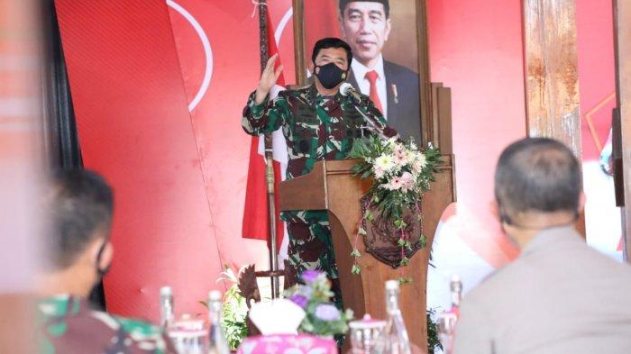 Panglima TNI Perintahkan Penyekatan Mobilitas di Kabupaten Grobogan untuk Cegah Penyebaran Covid-19