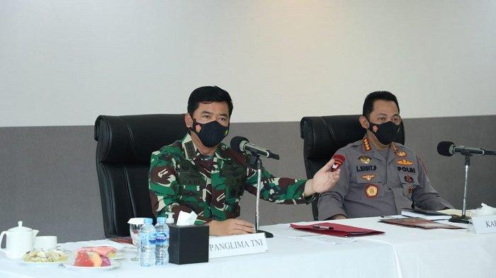Setelah Papua, Panglima TNI dan Kapolri Kunjungi Sulawesi Tengah untuk Beri Arahan ke Prajurit