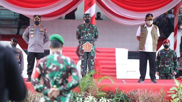 Panglima TNI Minta Satgas Penanganan Covid-19 di Bangkalan Optimalkan PPKM Mikro