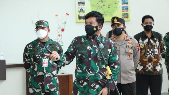 Panglima TNI Ajak Seluruh Pihak Atasi Penularan Covid-19 di Klaten Secara Keroyokan