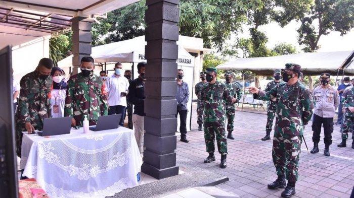 Panglima TNI Cek Penggunaan Silacak Oleh Tracer Covid-19 di Puskesmas Halim Perdanakusuma