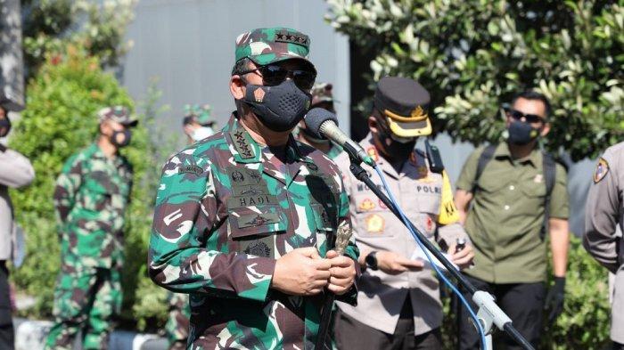 Panglima TNI Imbau Warga Solo yang Bergejala Covid-19 Segera Ke Tempat Isolasi Terpusat Terdekat