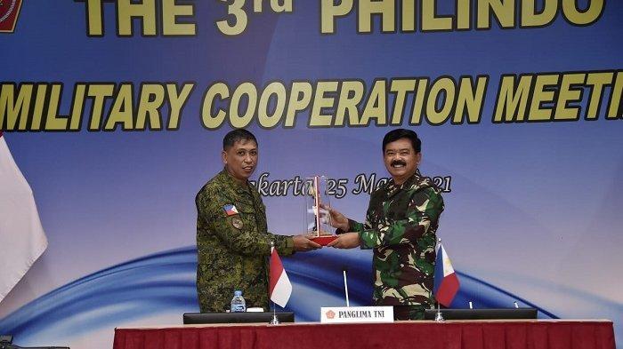 Panglima TNI Buka Sidang Kerja Sama Militer Indonesia-Filipina Tahun 2021