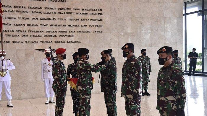 Panglima TNI Pimpin Sertijab Asisten Logistik dan Penyerahan Jabatan Dankodiklat TNI