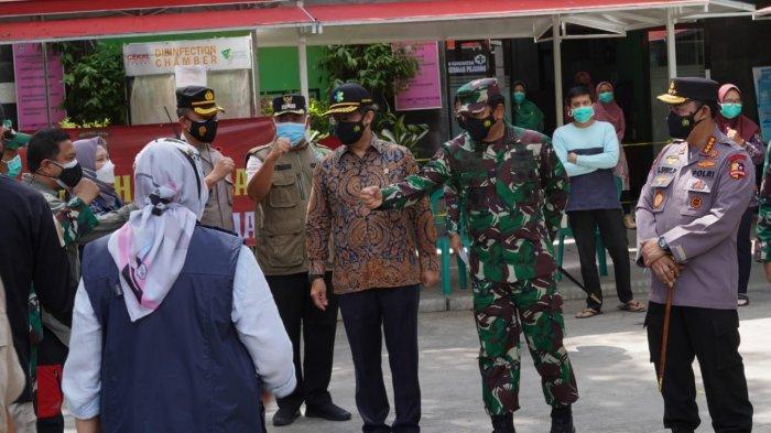 Sidak ke Bekasi, Panglima TNI Ingatkan Kesiapan Penanganan Covid-19 dari Hulu ke Hilir