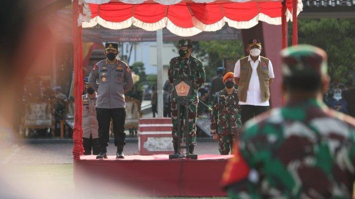 Pesan Panglima TNI ke Satgas Covid-19 Saat Tinjau Pekalongan