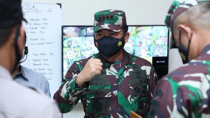 Panglima TNI Apresiasi Kesiapan Tempat Isolasi Terpusat di Bantul