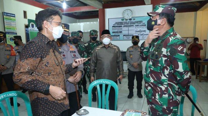 Panglima TNI Tekankan Sinergi 4 Pilar di Wilayah Depok Untuk Putus Rantai Penularan Covid-19