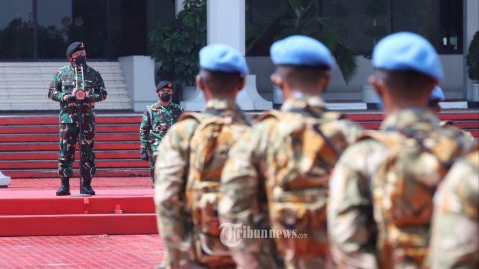 TNI Berangkatkan 175 Prajurit Gabungan dari 3 Matra ke Kongo Untuk Misi Perdamaian PBB