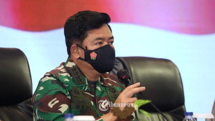 Isu Paham Komunisme Menyusup di TNI, Marsekal TNI Hadi Tjahjanto : Saya Tak Mau Berpolemik