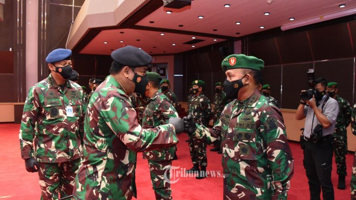 Panglima TNI Mutasi dan Rotasi Jabatan 151 Pati, Berikut Daftar 24 Pati dari Matra Udara