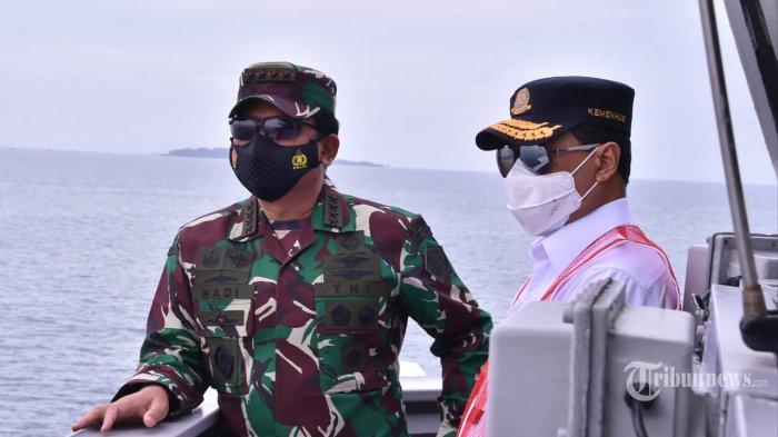 Kunjungi Pulau Lancang Kepulauan Seribu, Menhub Beri Semangat Tim Gabungan Temukan Kotak Hitam CVR