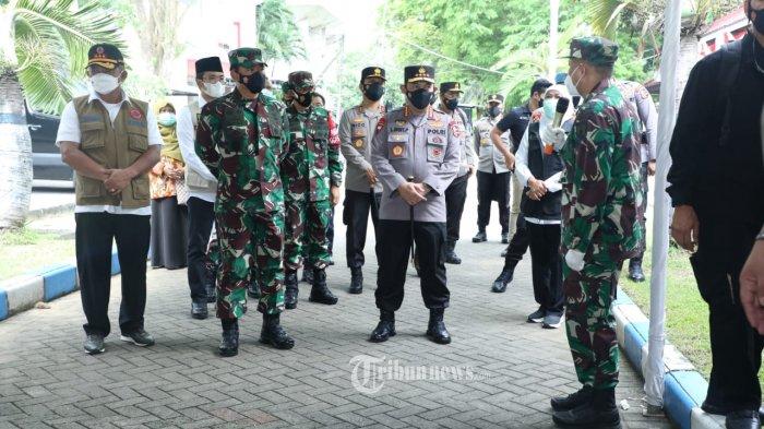 Panglima TNI dan Kapolri Sambangi Madiun dan Bangkalan