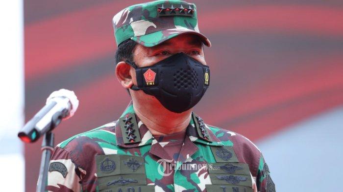 Panglima TNI Hadi Tjahjanto Mutasi 104 Perwira Tinggi TNI, Ini Daftar Lengkapnya