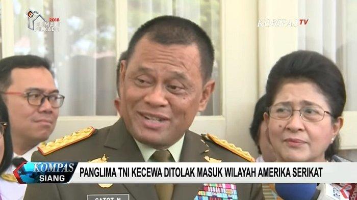 Deplu AS: Bukan Kami yang Menolak Panglima TNI, Silakan Tanya ke Bea Cukai