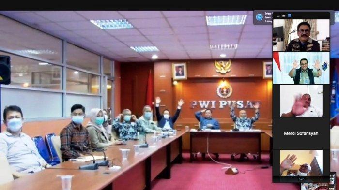 Panitia Hari Pers Nasional 2021 Berterimakasih Kepada Gubernur Anies Baswedan