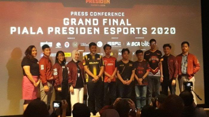 Final Piala Presiden Esports 2020 Akan Diselenggarakan Besok, Intip Keseruannya!