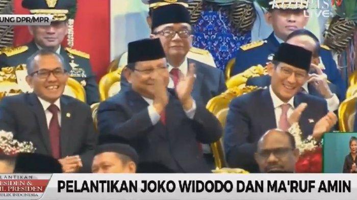 Pelantikan Presiden, Bambang Soesatyo Beri Pantun untuk Prabowo: Meski Tak Jadi Kepala Negara