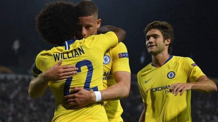 Hasil Liga Champions, Lille vs Chelsea, Willian Jadi Pahlawan Kemenangan The Blues