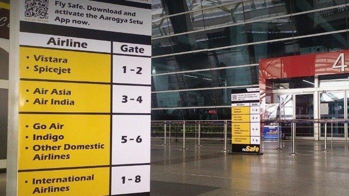 Kembali Dibuka, Bandara di India Mulai Perketat Aturan Kesehatan