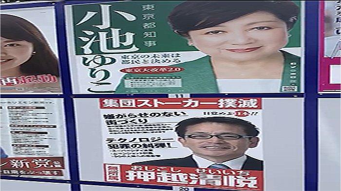 Mengintip Kampanye Pemilu Tokyo Jepang, Wajib Deposito 3 Juta Yen