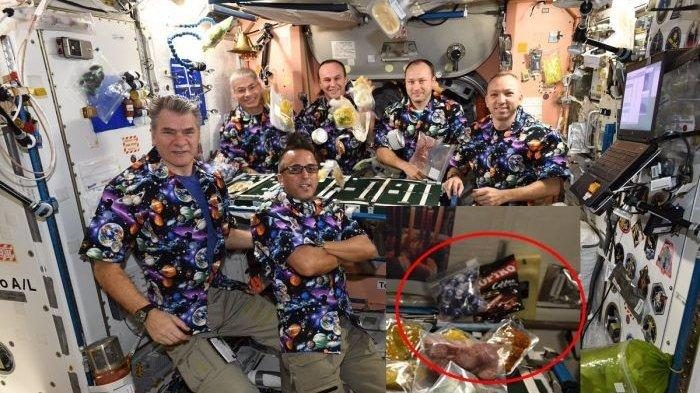 Makanan Aneh Ini jadi Hidangan untuk Astronot saat Berada di Luar Angkasa