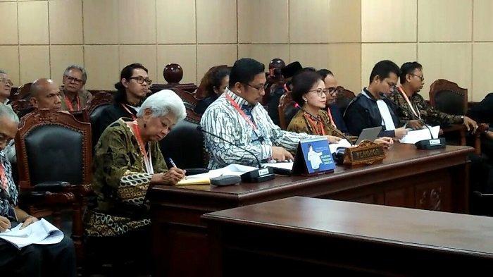 3 Pimpinan KPK Cs Minta Hakim Konstitusi Tunda Pemberlakuan Undang-Undang Baru KPK