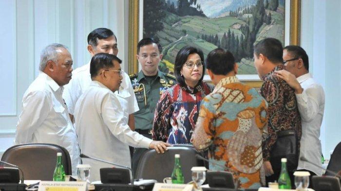 Jokowi Kumpulkan Menterinya Lagi, Rapat Terbatas Bahas Pemindahan Ibu Kota