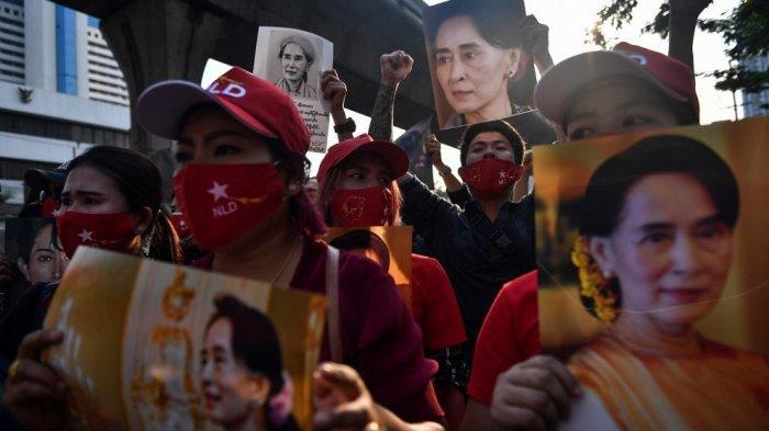 Pengungsi Rohingya Kutuk Kudeta Tapi Tak Kasihani Aung San Suu Kyi: Kami Menyadari Karakter Aslinya