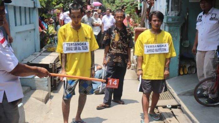 Di Bawah Pengaruh Minuman Keras, Pemuda di Cilincing Bacok Preman Kampung Hingga Tewas