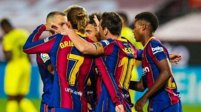 Hasil Celta Vigo vs Barcelona Liga Spanyol, 10 Pemain Blaugrana Sukses Hantarkan Pesta Gol