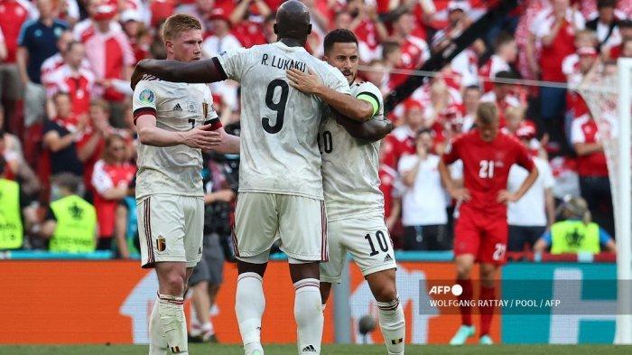 Keputusan Martinez soal Dimainkan atau Tidaknya Kevin de Bruyne dan Hazard di Laga Melawan Italia