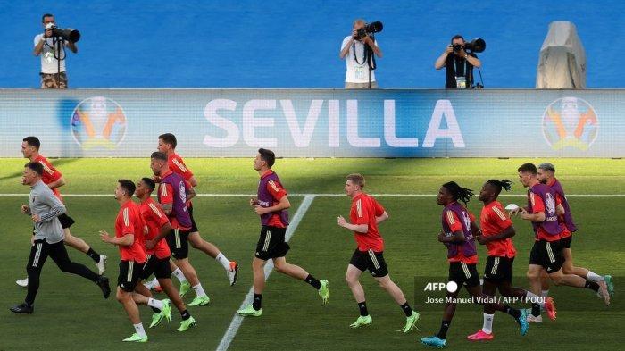 Live Streaming RCTI Euro 2021 Hari Ini Belgia vs Portugal, Cara Nonton Mola TV di Sini