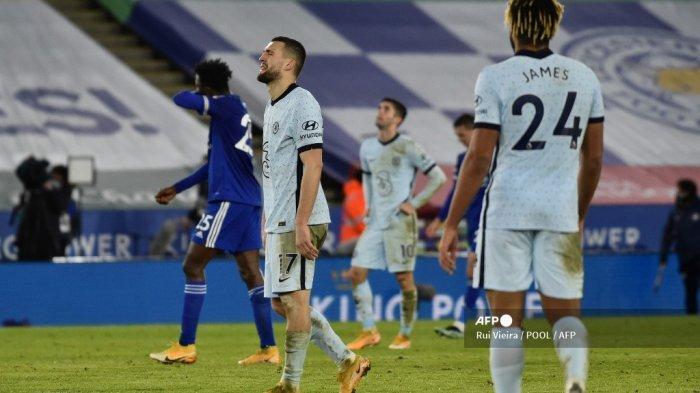 HASIL Liga Inggris: Chelsea Kandas di Markas Leicester, Frank Lampard Bahas Pemecatan