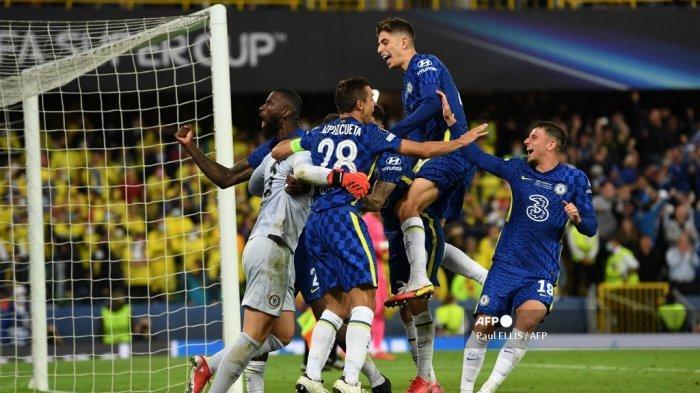 Chelsea Juara UEFA Super Cup 2021, Kepa Arrizabalaga Jadi Pahlawan di Babak Adu Penalti