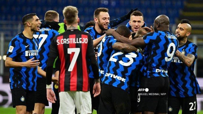 AC Milan vs Inter Derby della Madonnina Liga Italia: Prediksi Line-up, Live Streaming RCTI Gratis
