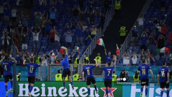 Tabuh Genderang Perang, Italia Tantang Portugal, Prancis dan Belgia dalam Perebutan Juara Euro 2020