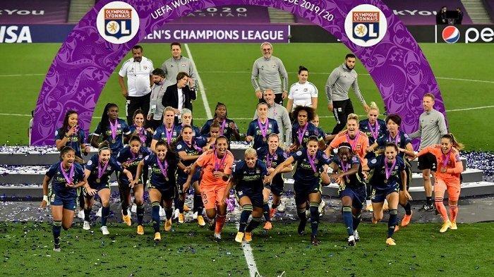 Olympique Lyon Perempuan Juara Liga Champions, Dominasi Lima Musim Beruntun