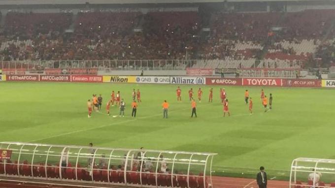 Persija Jakarta Dapat Teguran dari AFC gara-gara Tiket